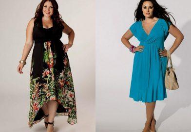Как да се обличат жените със закръглени форми
